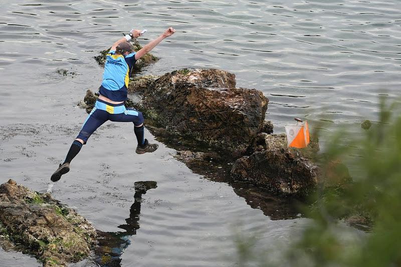 Orienteering jump