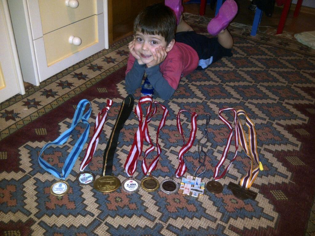 Can Berk ve madalyaları