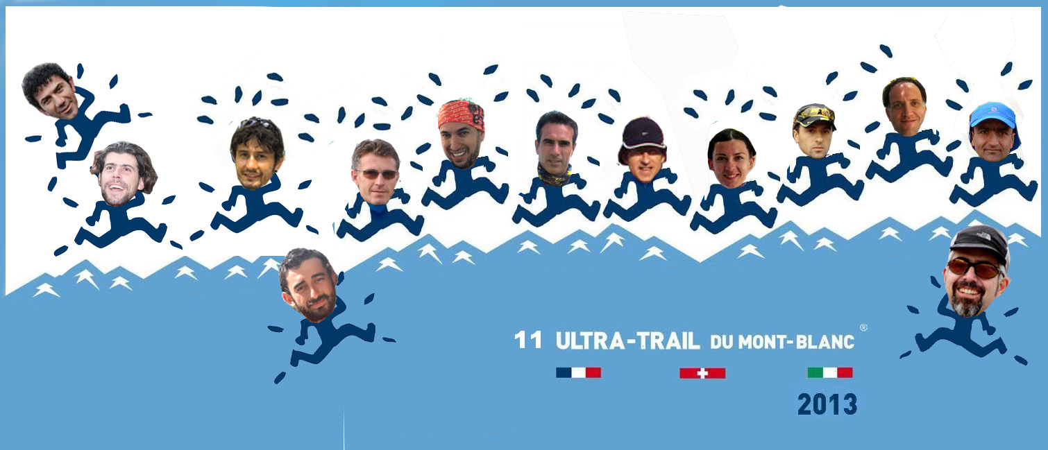 Turkish runners @UTMB2013