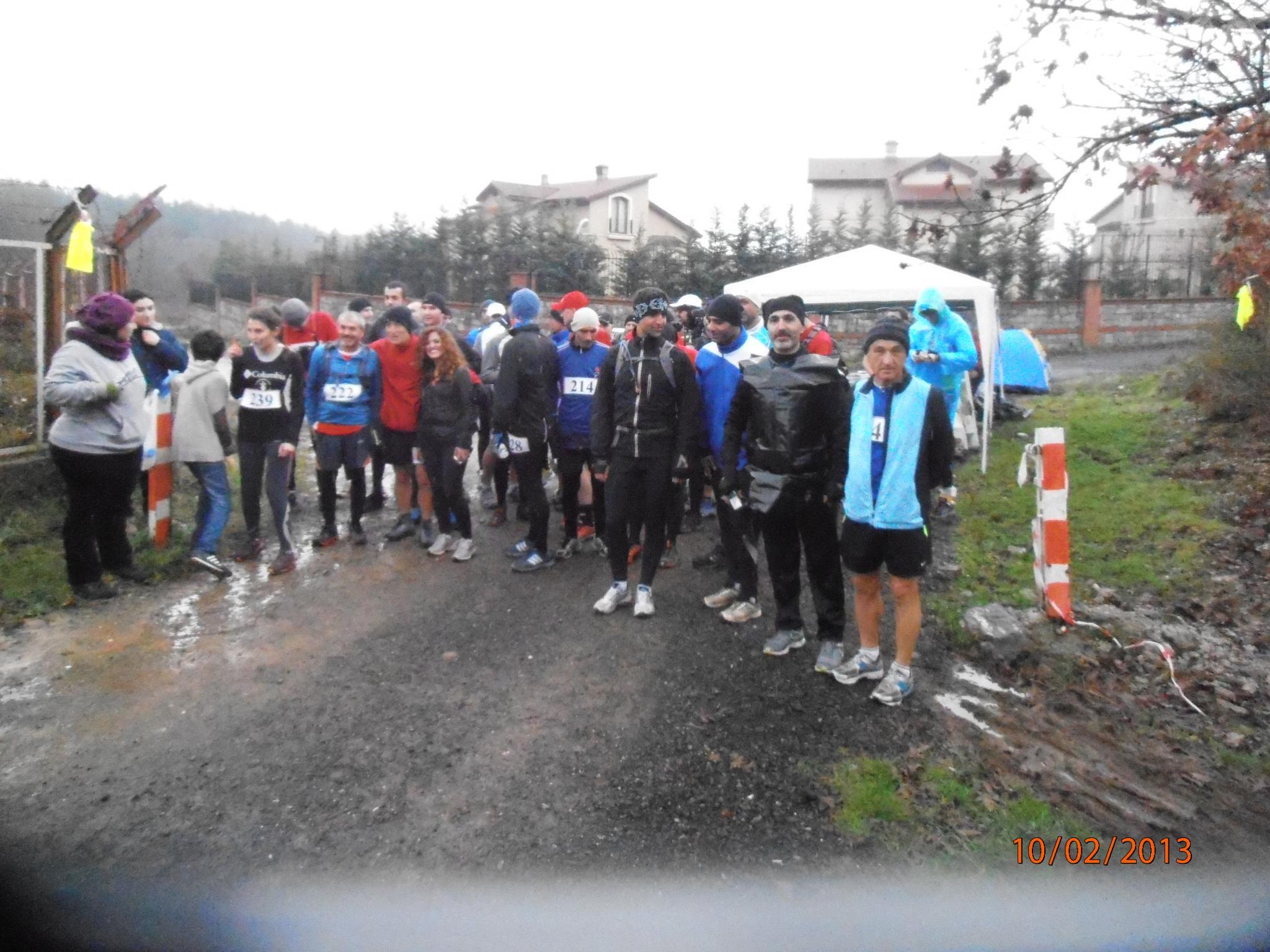 Start öncesi. Bu grup 30-40-50km koşmak için hazırlanan koşuculardan oluşuyor. F: .Team Ultra Trail Runner.