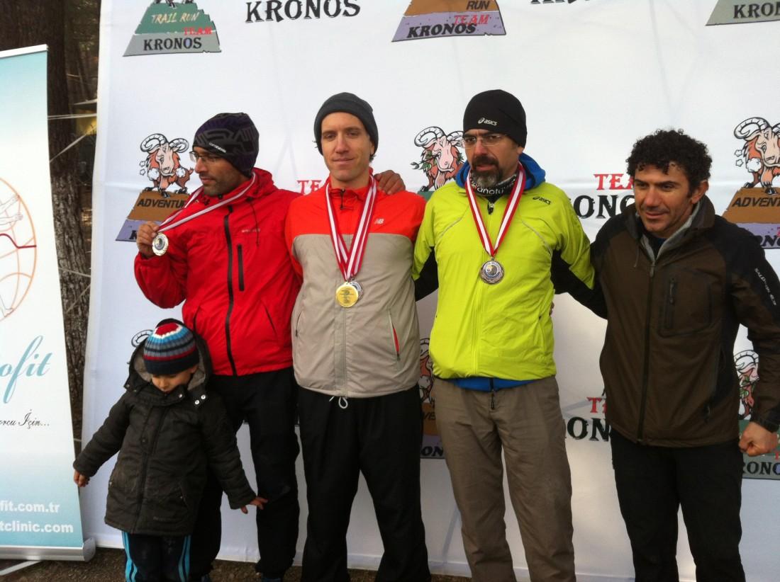 Yaş Kategori Kürsüsünde Soldan Sa: Uğur Taşdemir (2), Aykut Çelikbaş (1) , Caner (3), Faruk Kar