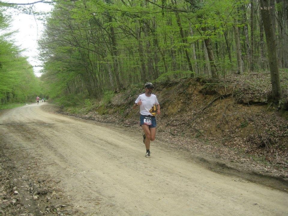 Son kilometrede, arkamda Erkal... Fotoğraf: Celal Sümer