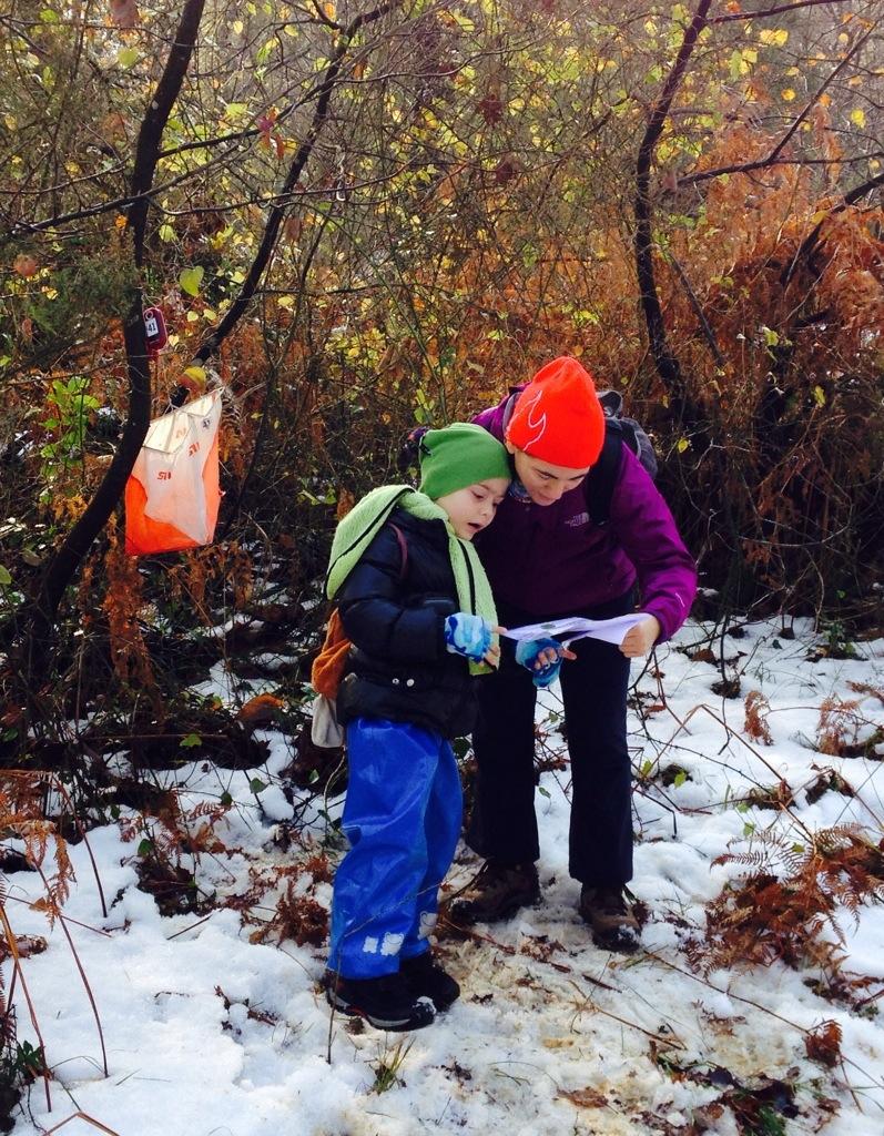Çocuklu Oryantiring: Kış Mevsimi