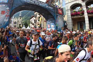 UTMB Startı . Foto: © The North Face® Ultra-Trail du Mont-Blanc® - Franck Oddoux