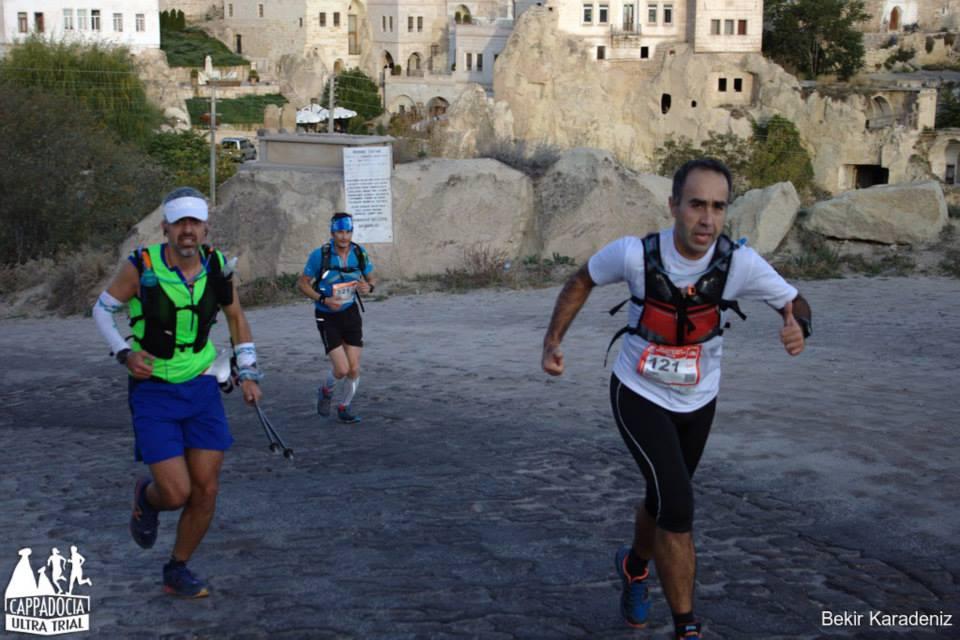 Yarışın başında Ortahisar'a yaklaşırken.