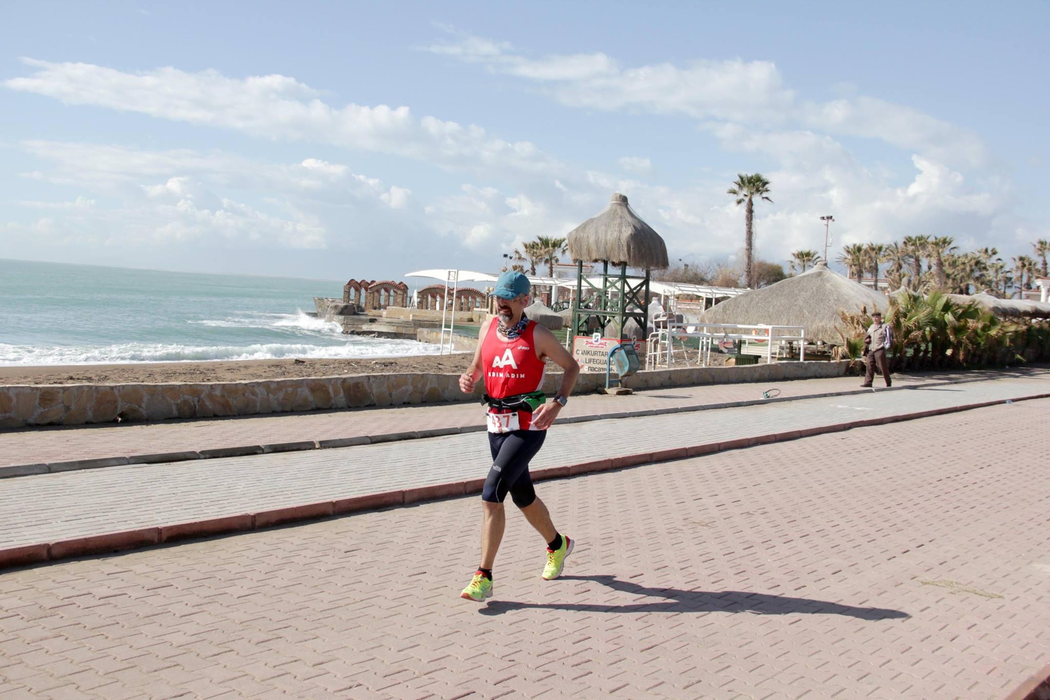 16.km civarı, Lara Plajı'na indikten hemen sonra. F: Alican Dönerkaya